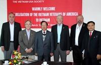 Đoàn Cựu chiến binh Mỹ thăm Việt Nam