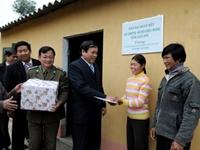 Đã có 134 808 căn nhà được xây dựng từ chương trình hỗ trợ hộ nghèo về nhà ở