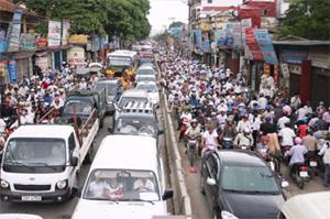 Xử lý ùn tắc giao thông tại Hà Nội Ngày qua ngày, áp dụng giải pháp tình thế