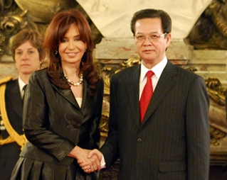 Tuyên bố chung Việt Nam - Ác-hen-ti-na