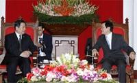 Đồng chí Trương Tấn Sang tiếp Đoàn đại biểu tỉnh Tứ Xuyên Trung Quốc