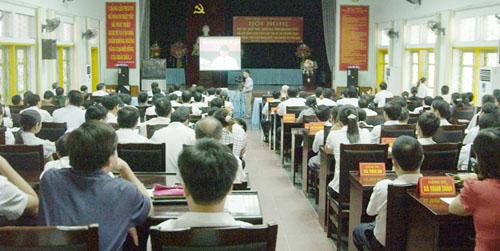 Phú Thọ Đổi mới cách tổ chức học tập, quán triệt Nghị quyết