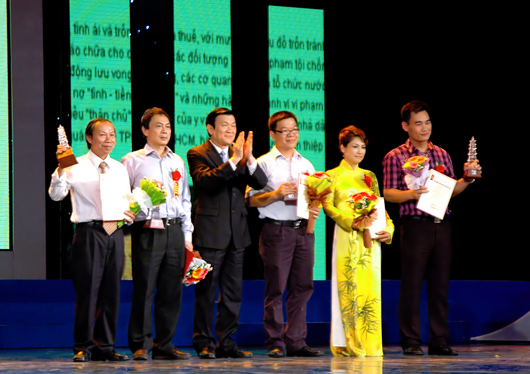 Lễ trao Giải Báo chí Quốc gia năm 2010