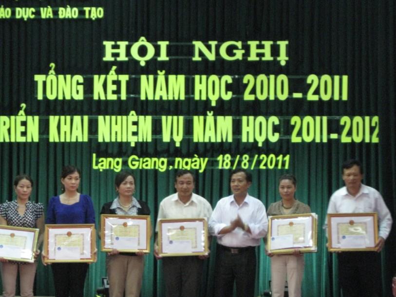 Huyện Lạng Giang Bắc Giang  Phấn đấu có gần 70 số trường học đạt chuẩn quốc gia