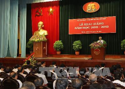 Tổng Bí thư Nguyễn Phú Trọng dự Lễ khai giảng năm học mới của Học viện Chính trị - Hành chính quốc gia Hồ Chí Minh