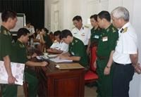 Công tác tuyển sinh quân sự năm 2012 Chặt chẽ, nghiêm túc, nâng cao chất lượng