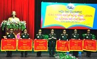 Bế mạc Hội thi các môn khoa học Mác - Lênin, tư tưởng Hồ Chí Minh toàn quân lần thứ 6