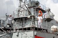 Bộ tư lệnh Vùng 1, Quân chủng Hải quân Tiếp nhận hai tàu pháo hiện đại