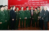 Tình đoàn kết chiến đấu giữa quân đội Việt Nam - Lào mãi trường tồn