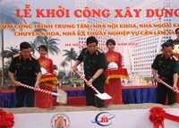 Khởi công Tổ hợp y tế hiện đại đa năng - Bệnh viện Trung ương Quân đội 108