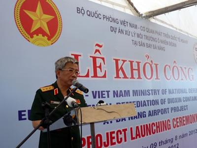 Khởi công Dự án xử lý môi trường ô nhiễm dioxin tại sân bay Đà Nẵng