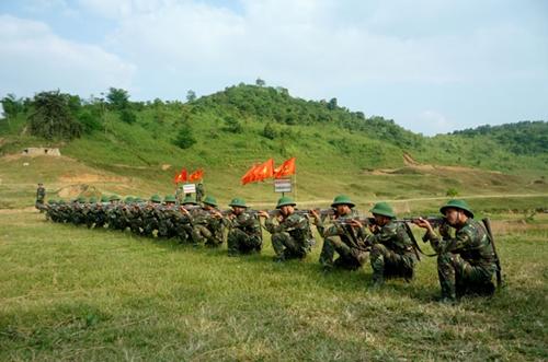 Quân đội nhân dân Việt Nam nêu cao tinh thần giữ nước trong thời bình