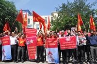 Hội Nghề cá Việt Nam mít tinh phản đối hành động ngang ngược của Trung Quốc
