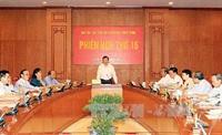 Bảo đảm cải cách tư pháp kịp thời, đồng bộ với cải cách hành chính, đổi mới phát triển kinh tế