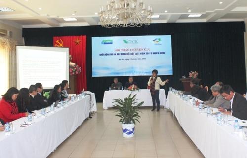 Khởi động hồ sơ đề xuất xây dựng Dự án Luật Kiểm soát ô nhiễm nước
