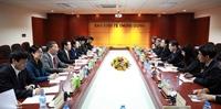 Ban Kinh tế Trung ương làm việc với Trung tâm nghiên cứu phát triển Quốc vụ viện Trung Quốc