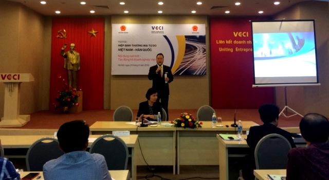 Nắm bắt thông tin sẽ giúp doanh nghiệp chủ động khi tham gia Hiệp định Thương mại Tự do Việt Nam – Hàn Quốc