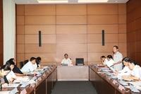 Quốc hội làm việc tại tổ, thảo luận về Dự án Luật an toàn thông tin và Dự án luật khí tượng Thủy văn