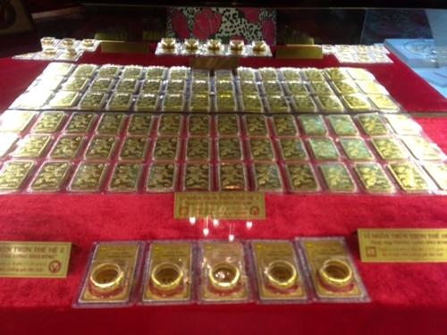 Giá vàng liên tục giảm, về sát ngưỡng 34 triệu đồng lượng