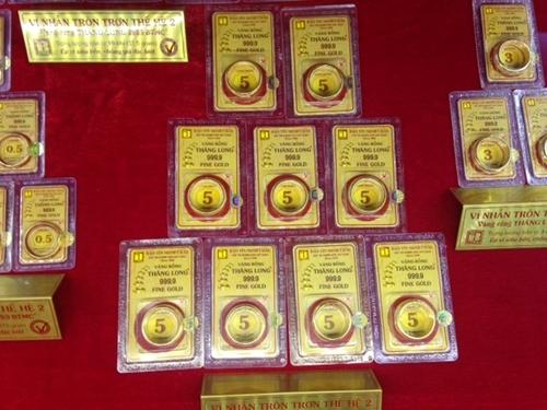 Vàng trong nước chững ở mức 34 triệu đồng lượng