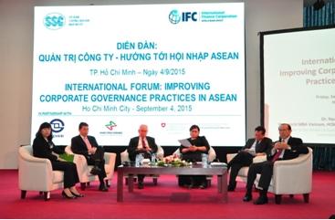 Diễn đàn Quản trị công ty - Hướng tới hội nhập ASEAN