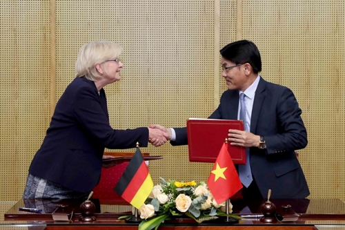 """Đức và Việt Nam đặt cơ sở cho định hướng """"Tăng trưởng Xanh"""""""