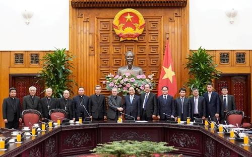 Trong thành tựu chung của đất nước có sự đóng góp thiết thực của đồng bào Công giáo Việt Nam