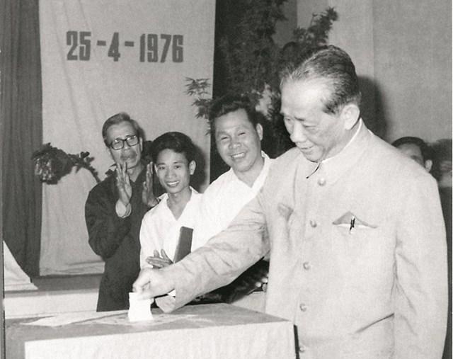 Ngày Tổng tuyển cử bầu Quốc hội của nước Việt Nam thống nhất 25 04 1976– 25 04 2016