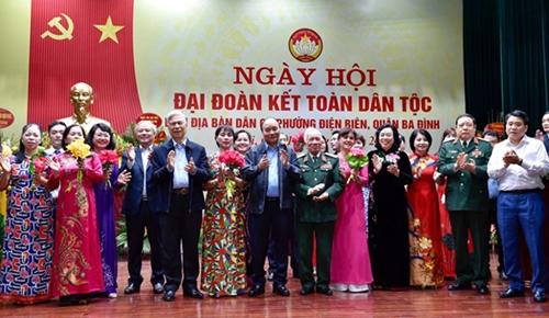 Giương cao ngọn cờ đoàn kết dân tộc để đi đến thành công và thịnh vượng