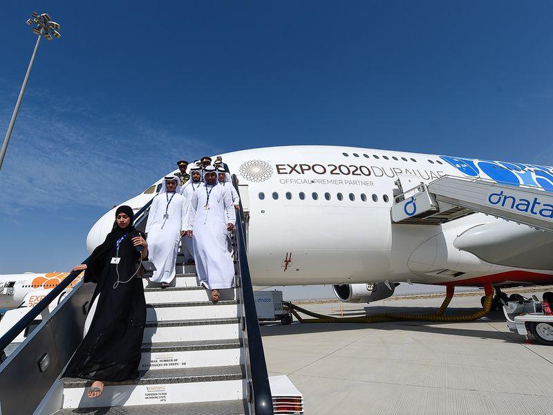 Airbus trúng lớn tại Triển lãm Hàng không Dubai 2019