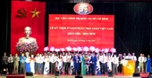 Góp phần tô thắm truyền thống 70 năm Học viện Chính trị quốc gia Hồ Chí Minh