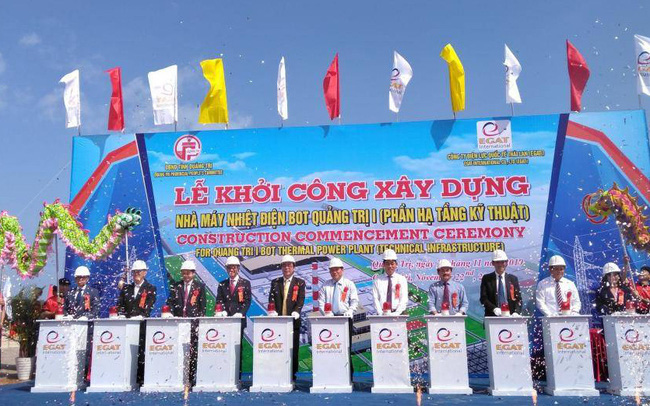 Khởi công Nhà máy Nhiệt điện BOT Quảng Trị 1 hơn 2 tỉ USD
