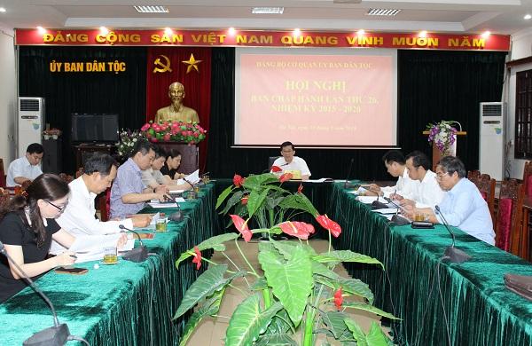 Đảng bộ Ủy ban Dân tộc dự kiến hoàn thành tổ chức Đại hội trước 30 6 2020