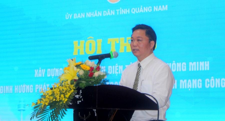 Quảng Nam Tìm giải pháp xây dựng chính quyền điện tử, đô thị thông minh