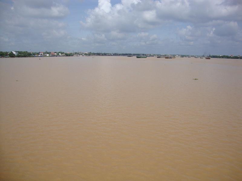 Nước sông Đồng Nai bị ô nhiễm nặng