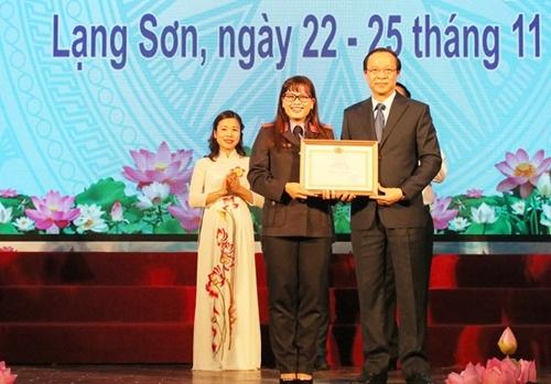 Thí sinh Sơn La giành giải Nhất Hội thi Báo cáo viên giỏi khu vực I