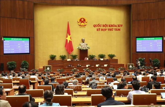 Kỳ họp thứ 8, Quốc hội khóa XIV Thông cáo báo chí số 27
