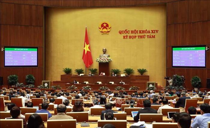 Quốc hội thông qua Luật Lực lượng dự bị động viên