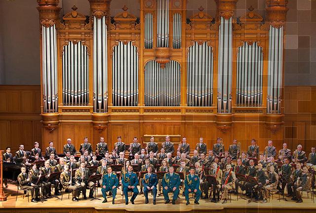 Dàn nhạc Lực lượng Vệ binh quốc gia Liên bang Nga biểu diễn tại Việt Nam