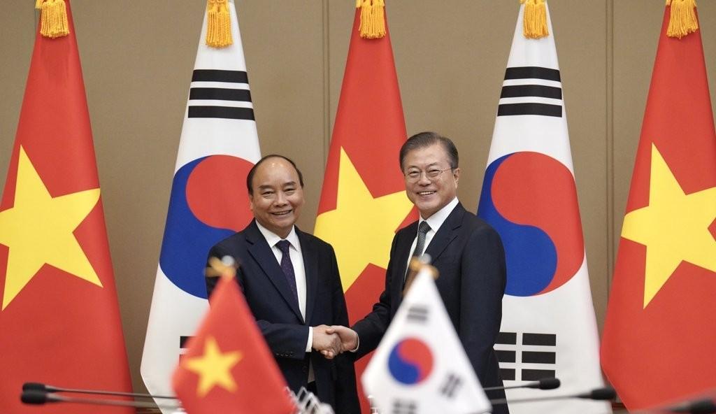 Đưa kim ngạch thương mại song phương Việt Nam - Hàn Quốc lên 100 tỷ USD