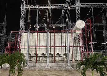 TBA 220kV Dung Quất được nâng công suất lên 500MVA