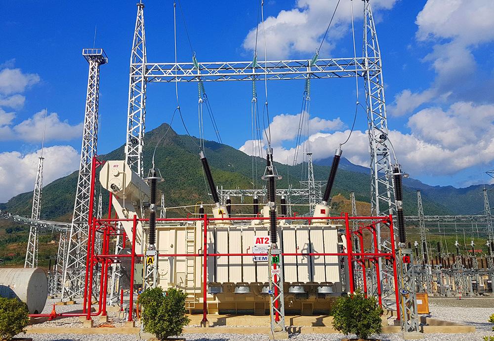 Trạm 220kV Than Uyên đưa vào hoạt động máy biến áp 220kV thứ hai