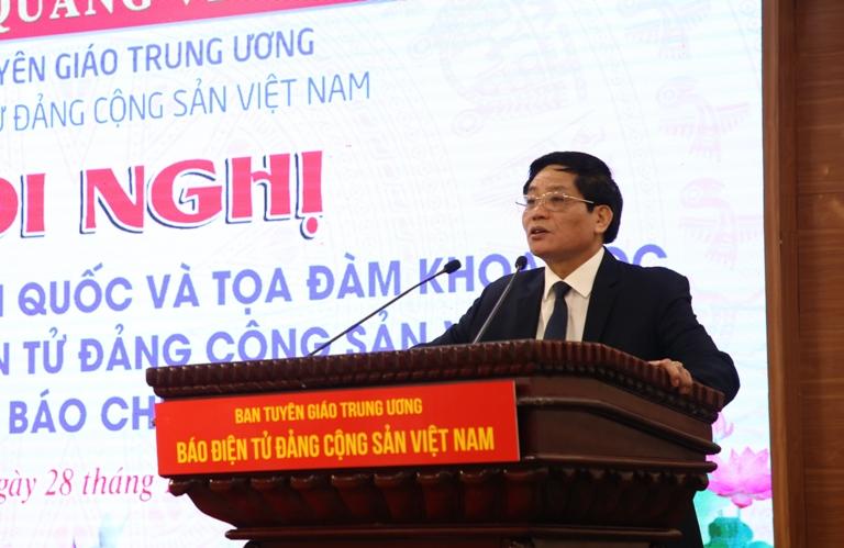 Xây dựng Báo điện tử Đảng Cộng sản Việt Nam thành cơ quan báo chí truyền thông đa phương tiện