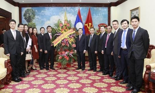 Quan hệ đặc biệt Việt - Lào phát triển tốt đẹp trên các lĩnh vực