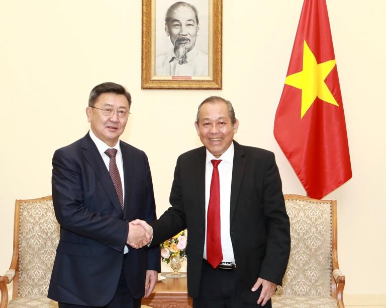 Việt Nam luôn coi Mông Cổ là đối tác quan trọng trong khu vực
