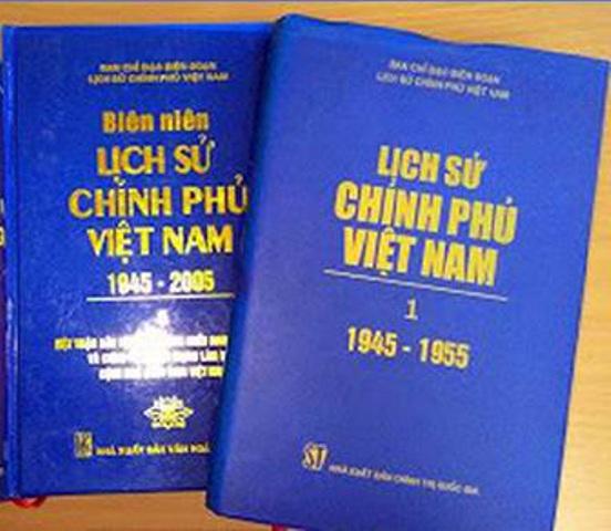 Sửa đổi Đề cương, Kế hoạch biên soạn, xuất bản Lịch sử Chính phủ Việt Nam