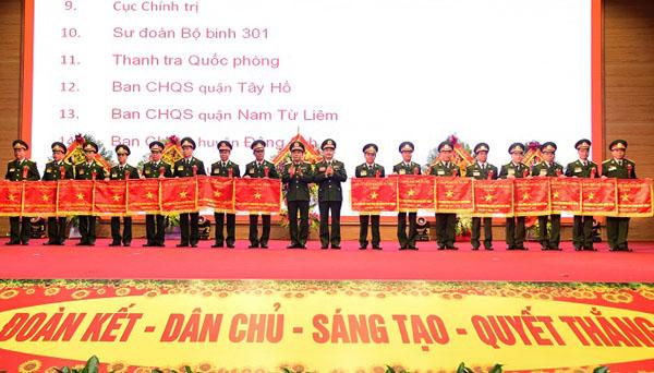 Phong trào thi đua khơi dậy lòng tự hào, tinh thần yêu nước của lực lượng vũ trang Thủ đô