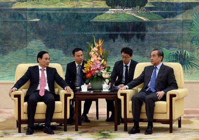 Trao đổi quan hệ song phương Việt Nam – Trung Quốc