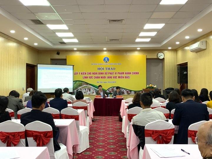 Đóng góp Dự thảo Nghị định xử phạt vi phạm hành chính lĩnh vực chăn nuôi