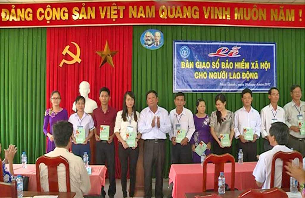 BHXH tỉnh Long An Những nỗ lực trong triển khai chính sách BHXH tự nguyện
